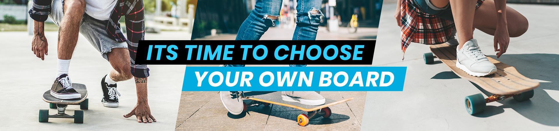 Buy skateboard, longboard or cruizer in Rideoo store