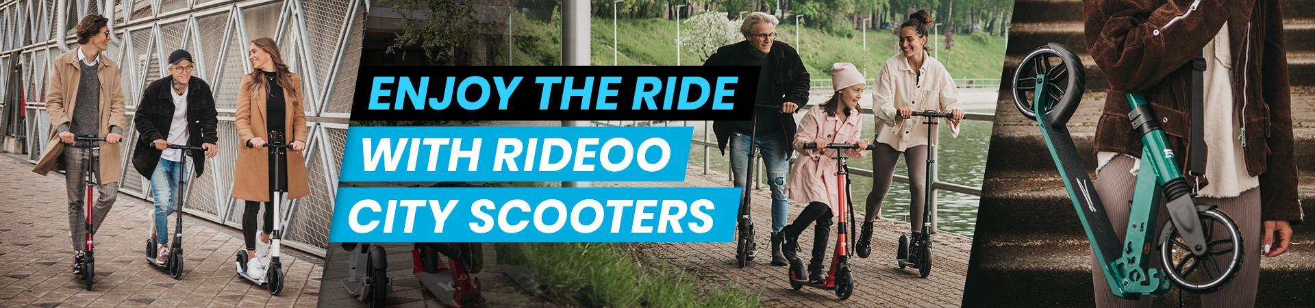 Самокаты для города Rideoo