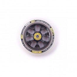 Eagle Supply Wheel H/Line 2/L X6 Snowballs Black/White 115mm