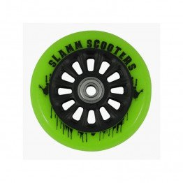 Slamm 100mm Ny-Core Wheels Green