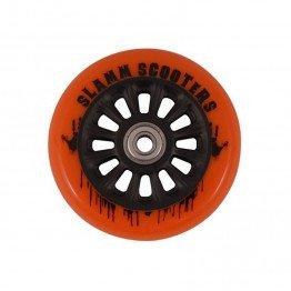Slamm 100mm Ny-Core Wheels Orange