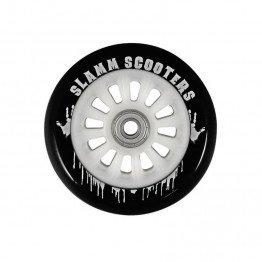 Slamm 100mm Ny-Core Wheels White/Black